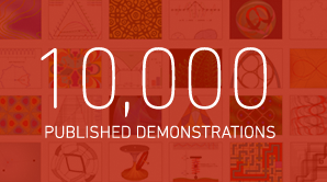 Wolfram Demonstrations Project: 10,000 Apps Strong